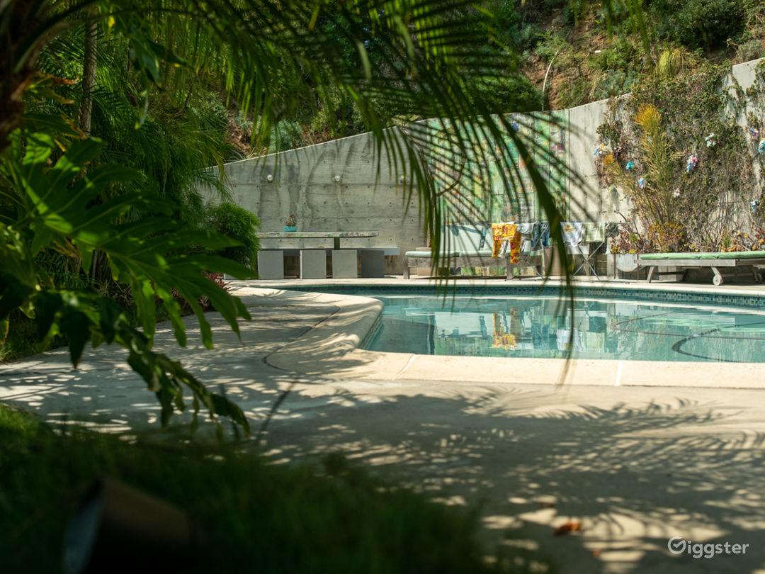 Hidden Mid Century Sanctuary Nestled in the Canyon Photo 1