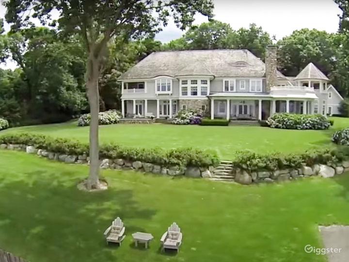 Backside of main house and backyard