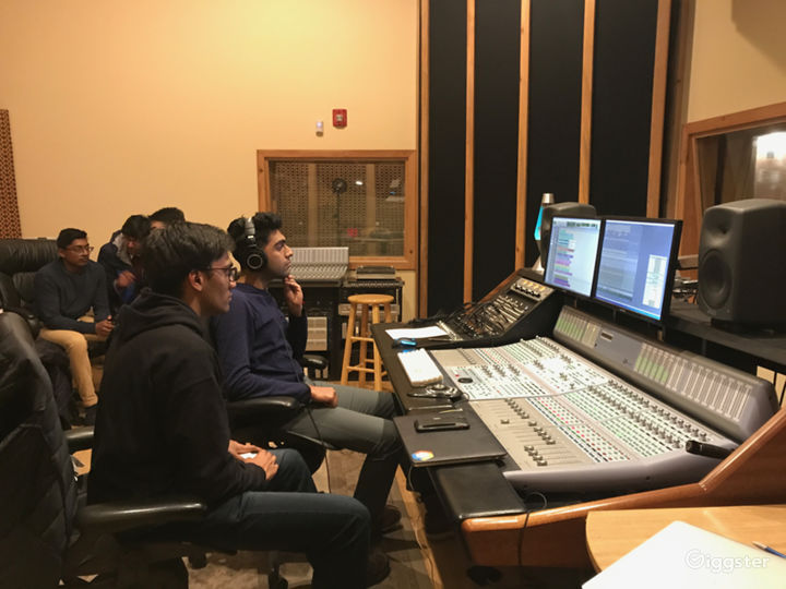 Clients listening in Control Room