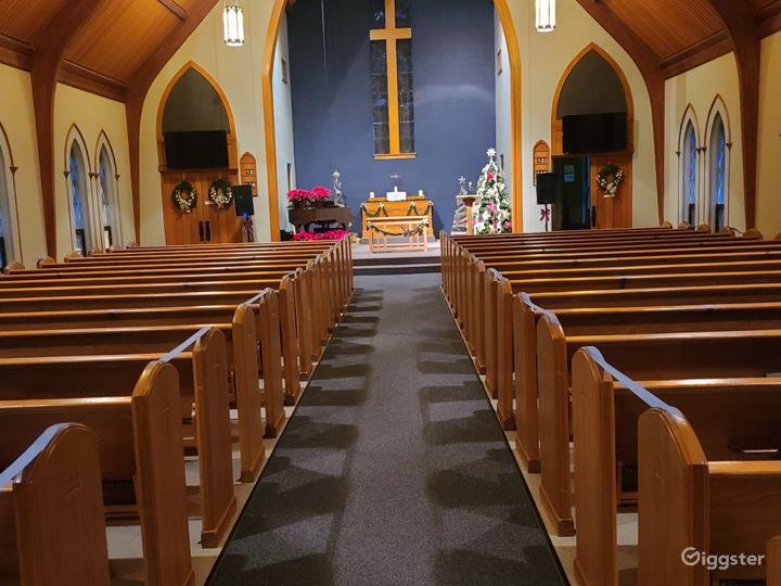 The Center Wedding Chapel/Sanctuary Photo 5