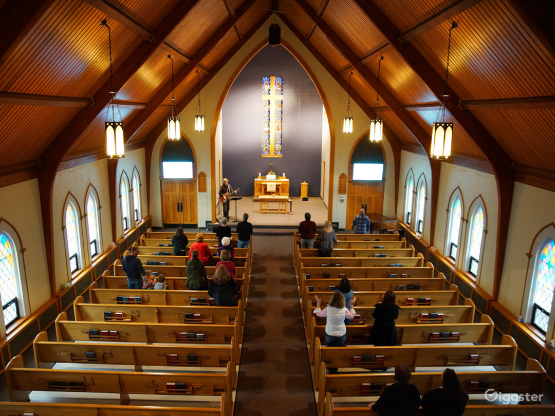 The Center Wedding Chapel/Sanctuary Photo 1