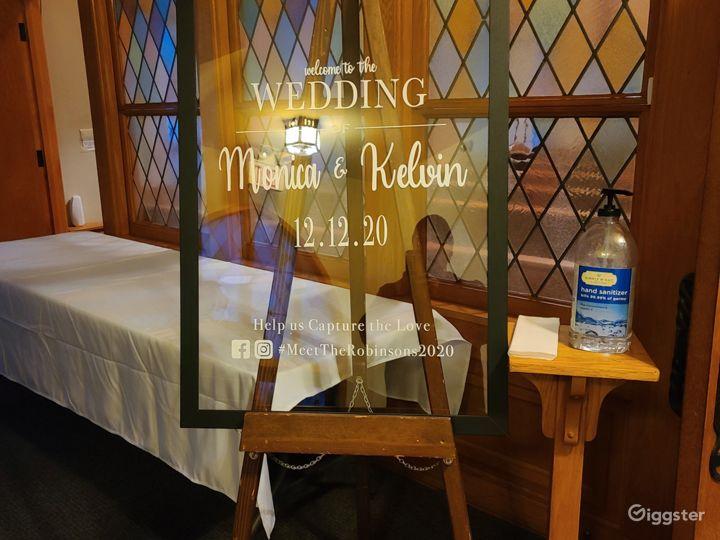 The Center Wedding Chapel/Sanctuary Photo 4