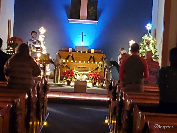 The Center Wedding Chapel/Sanctuary Photo 2