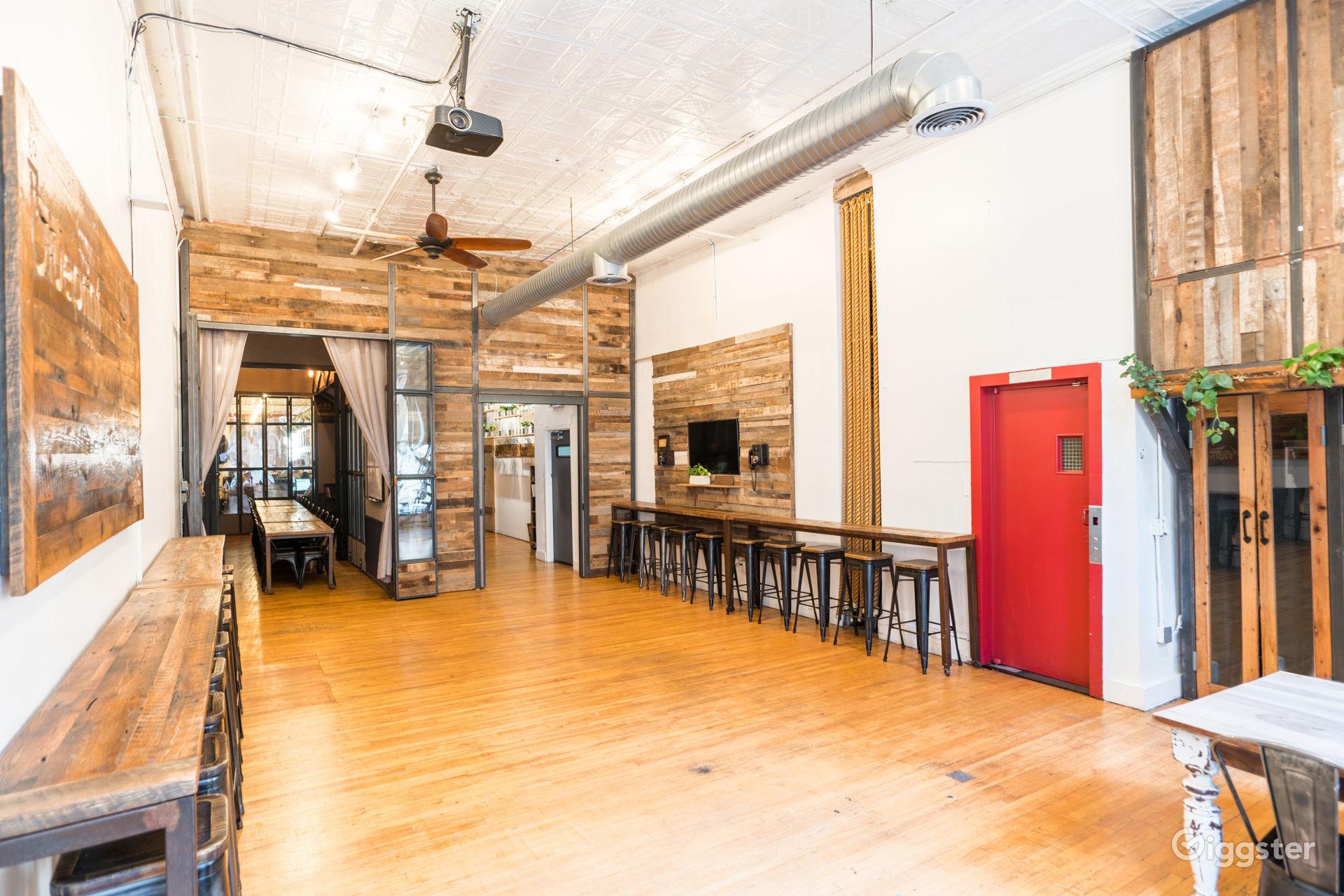 Designer SoHo Loft Space New York Rental