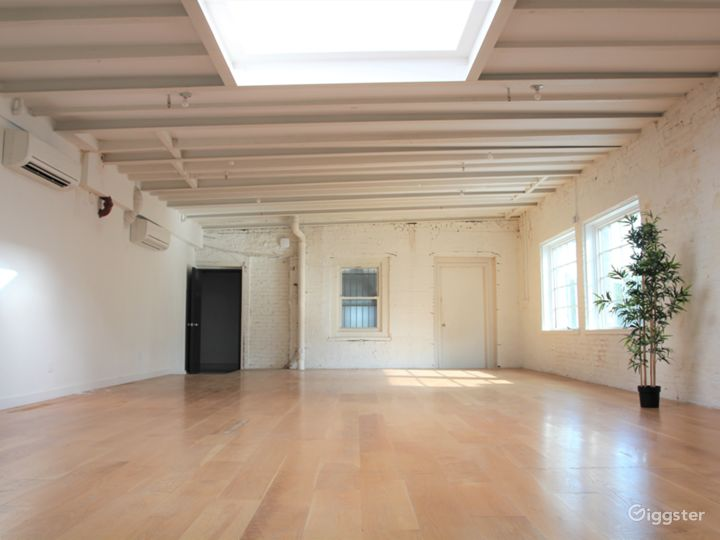 Charming White Brick Studio with Skylight in LES Photo 5