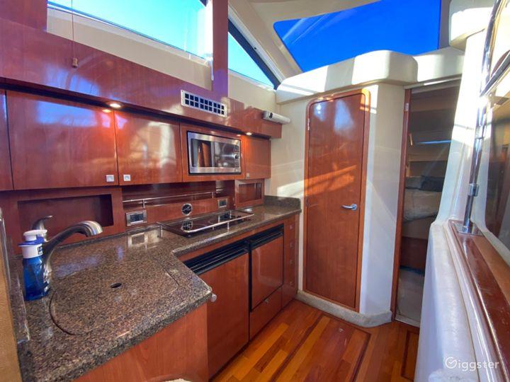 Glamourous 37FT Sea Ray Sedan Bridge Party Boat Space Events Photo 3