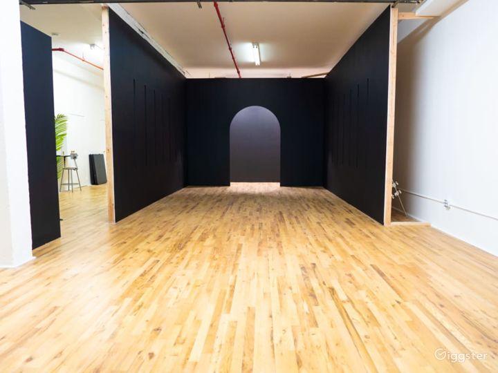 RGB Led tunnel, Standing Cube, Art Vanity Photo /  Photo 5