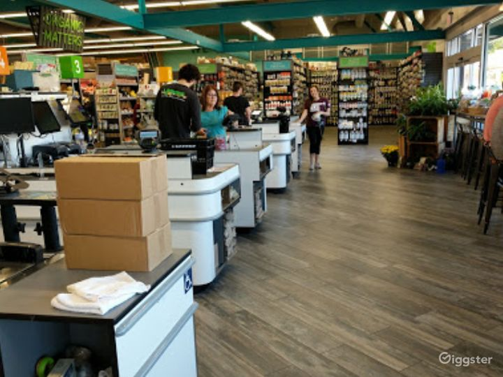 Spacious Health Food Store Perfect for Photoshoots and Productions in San Luis Obispo Photo 2