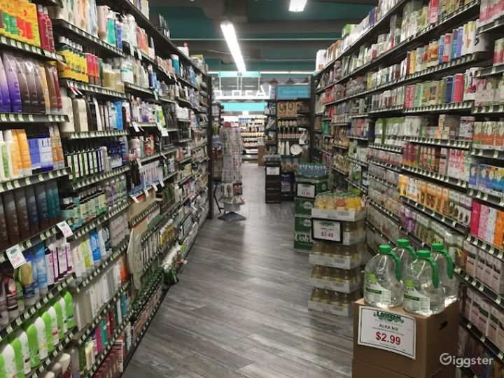 Spacious Health Food Store Perfect for Photoshoots and Productions in San Luis Obispo Photo 4