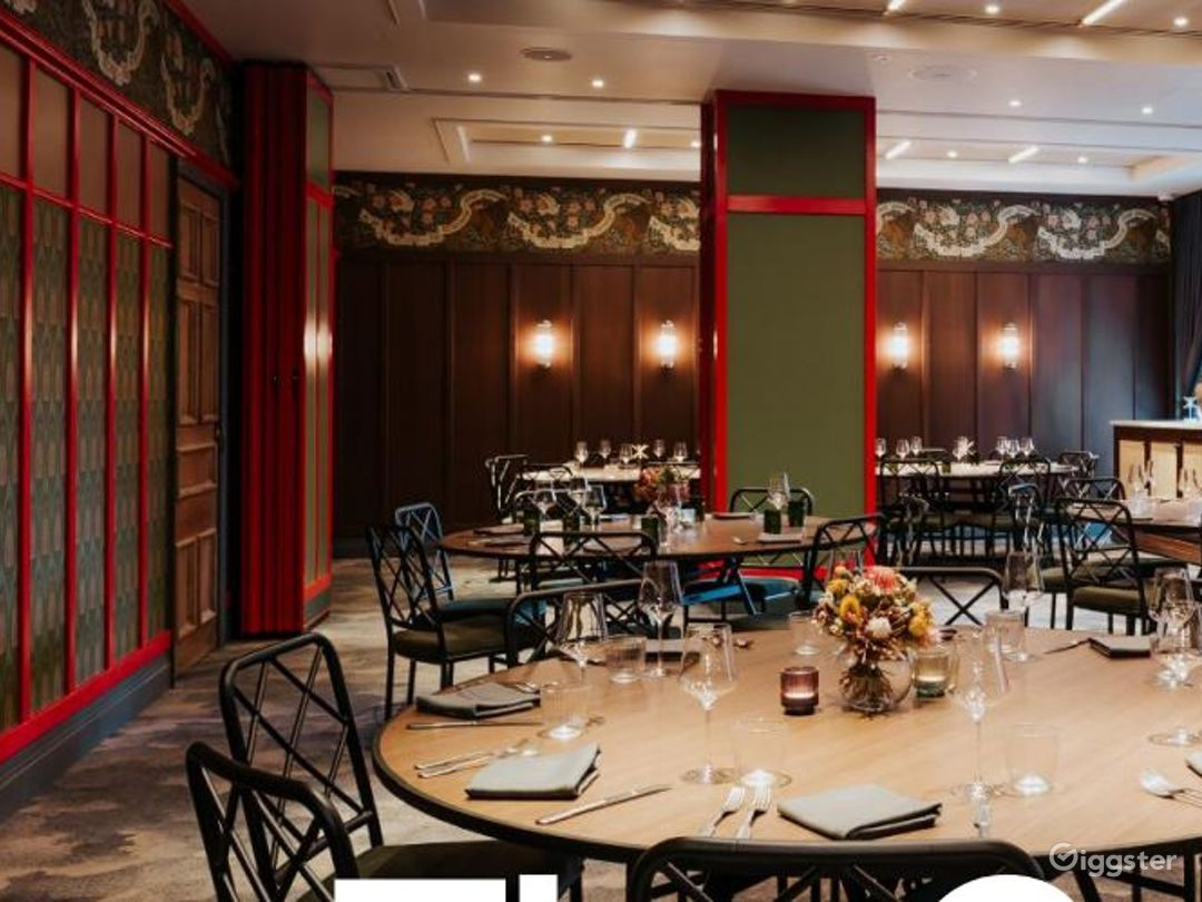 Elegant Grand Hall with Victorian Inspired Wall Photo 1