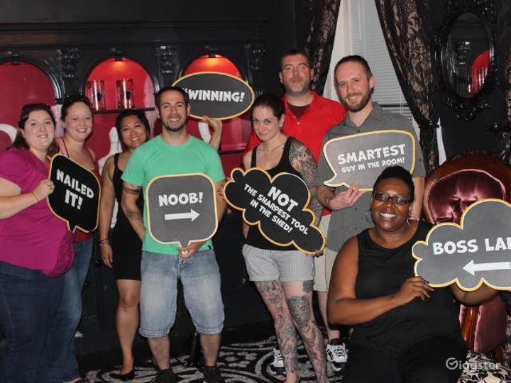 The Black Widow Escape Room in Bethesda Photo 4