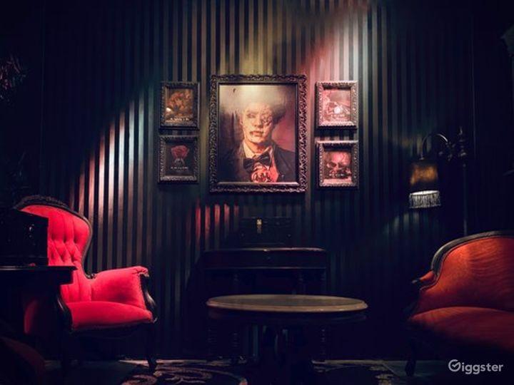 The Black Widow Escape Room in Bethesda