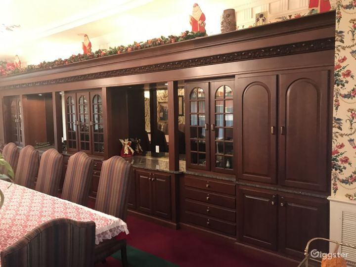 Custom made cabinetry made by the Amish