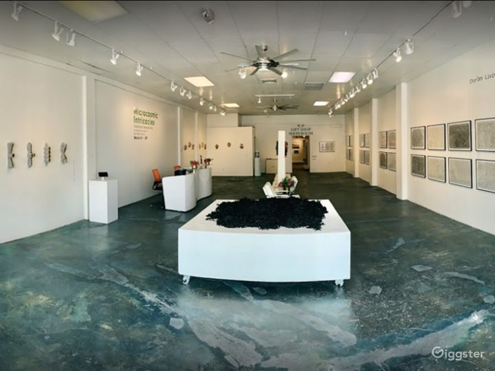 Exhibition Space in the center of the Las Vegas Arts District