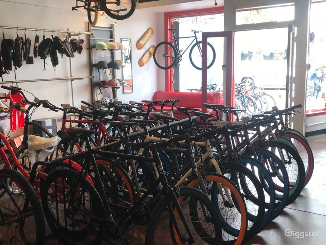 Boutique Bicycle Shop Photo 1