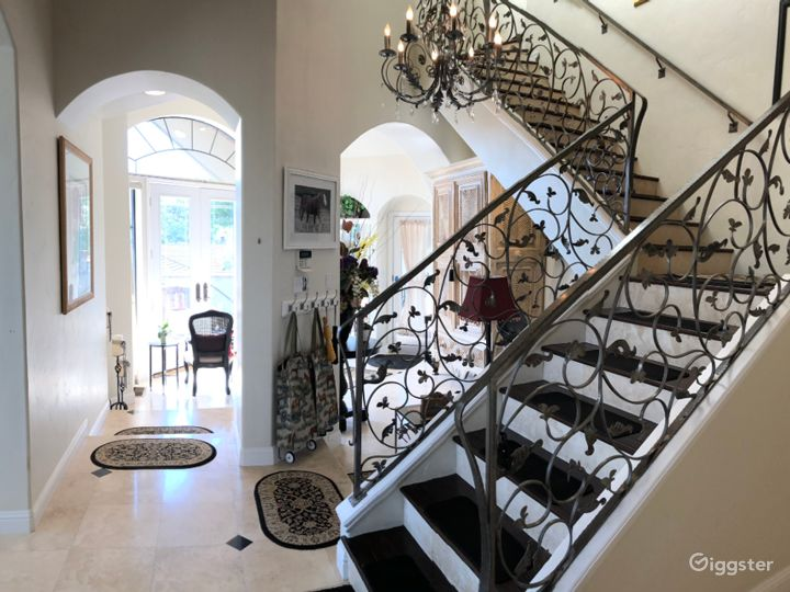 Boutique Equestrian Mansion Vignette Fashion/Drone Photo 4