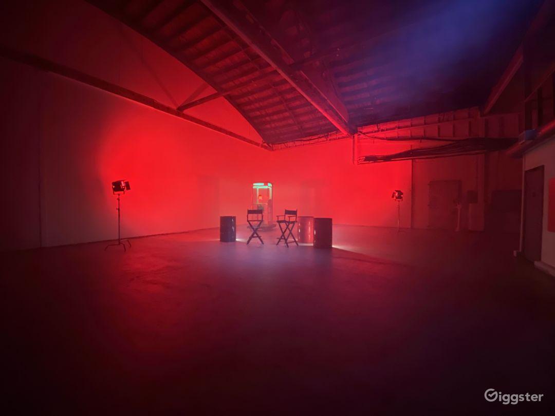 Open Industrial Film Studio Warehouse Photo 3