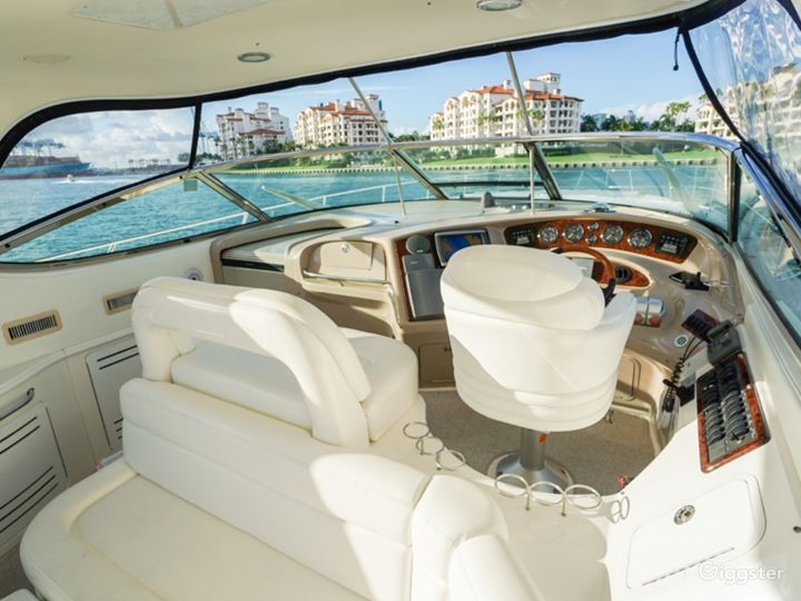 Opulent 54ft SEA RAY DUFFY'S Party Yacht Space Events Photo 3