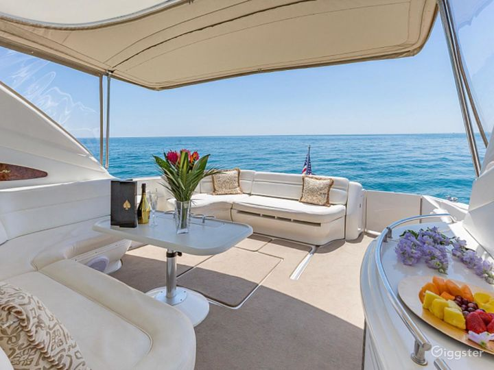 Opulent 54ft SEA RAY DUFFY'S Party Yacht Space Events Photo 2