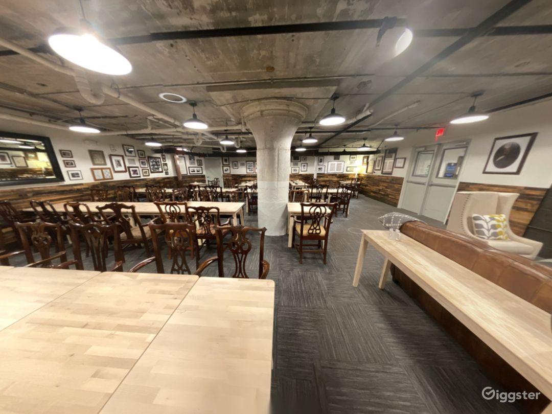 Buy Out Rental - Basement Club Hall + The Mezzanine Nook  Photo 1