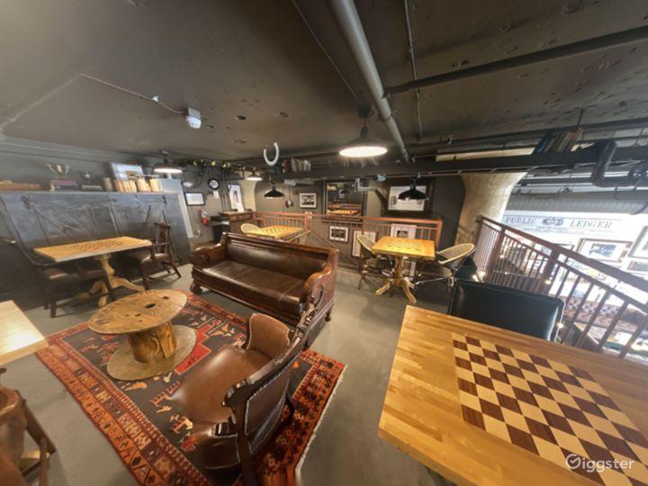 Buy Out Rental - Basement Club Hall + The Mezzanine Nook  Photo 4