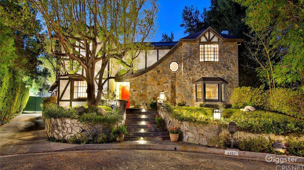 Tudor Style Luxury House Los Angeles Rental