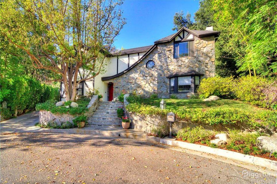 Stunning Tudor Mansion in Tarzana Los Angeles Rental