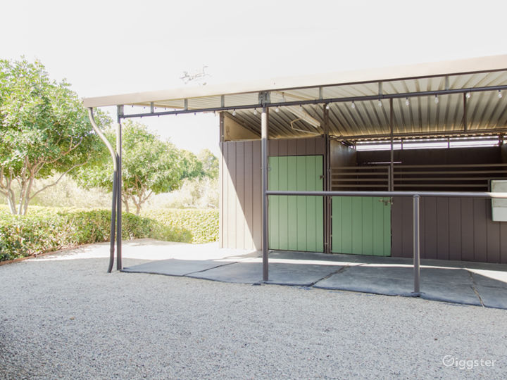 Eichler Designed Midcentury Ranch Home with Stable Photo 4