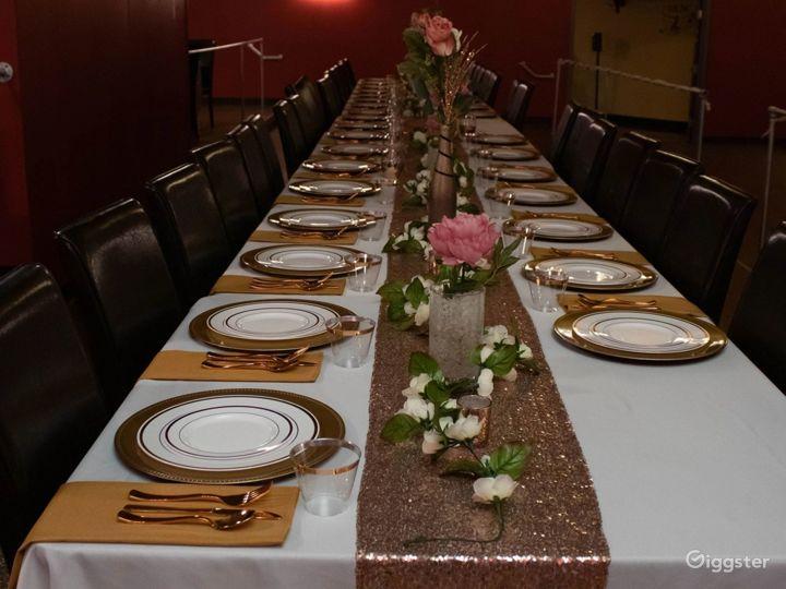 Huge Elegant Sterling Hall Photo 5