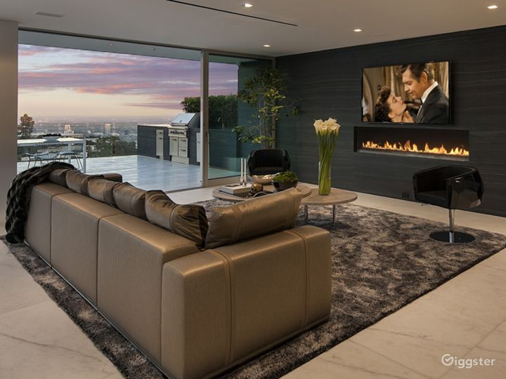 Ultra Modern Design Beverly Hills Mansion Photo 3