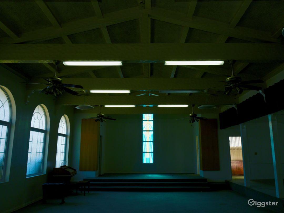 Abandoned Venice Horror Church + Modern Office Photo 4