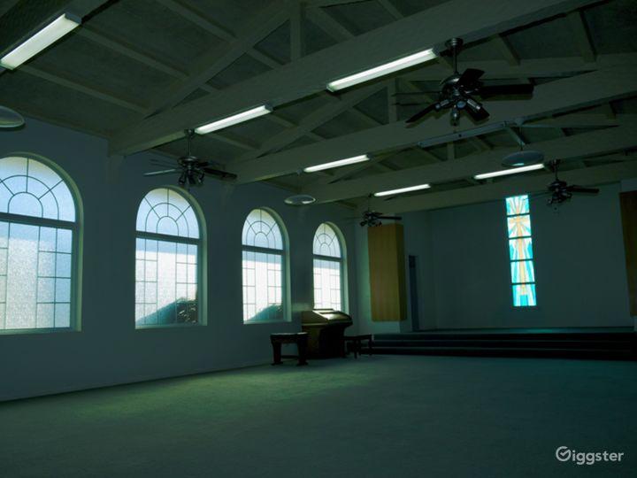 Abandoned Venice Horror Church + Modern Office