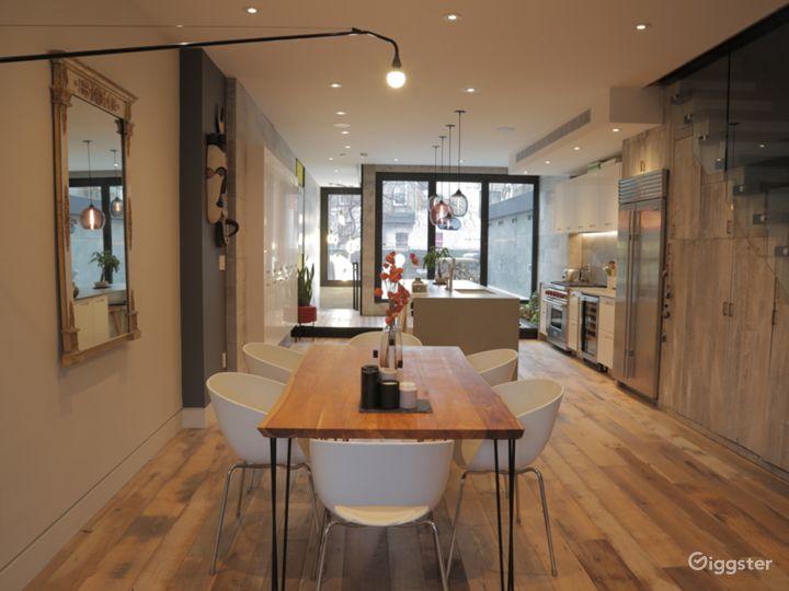 Modern Brooklyn townhouse: Location 5140