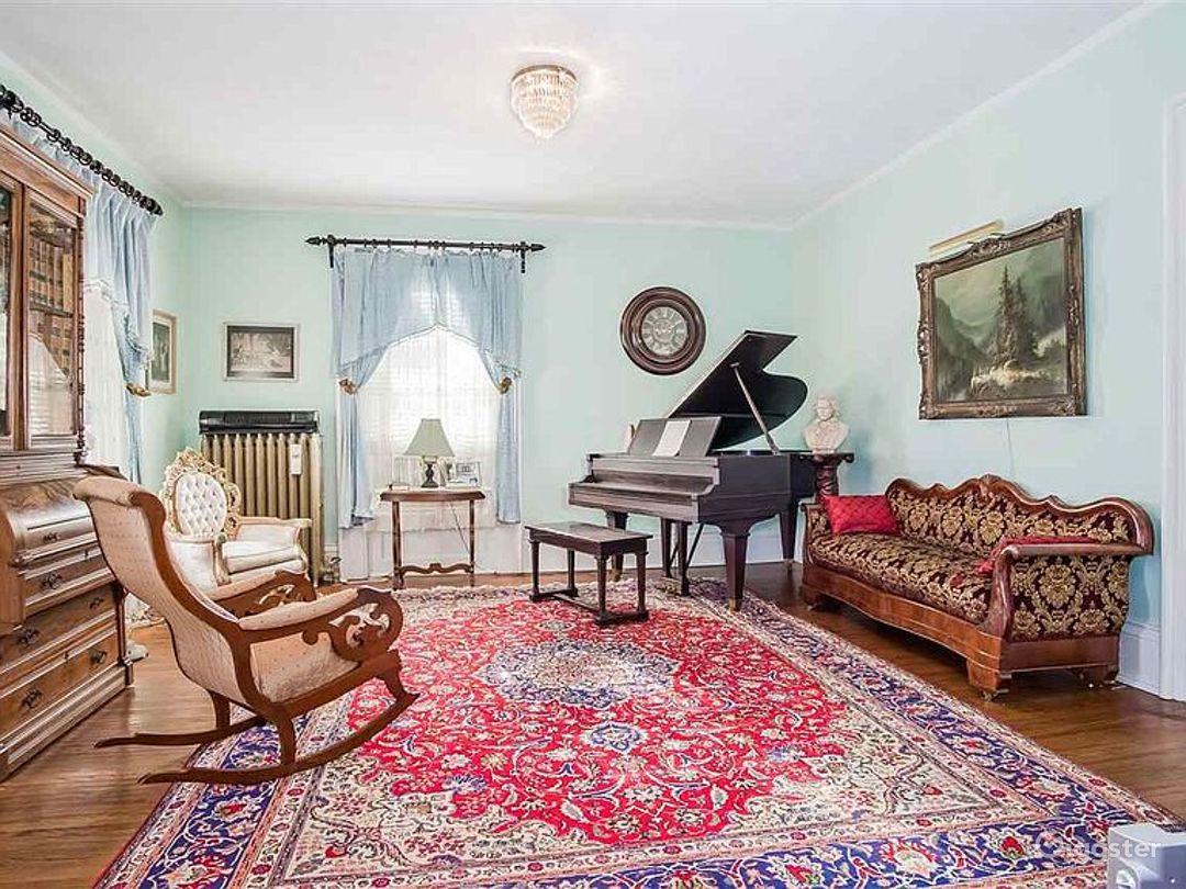 Original grand piano Susan Stare composed music.