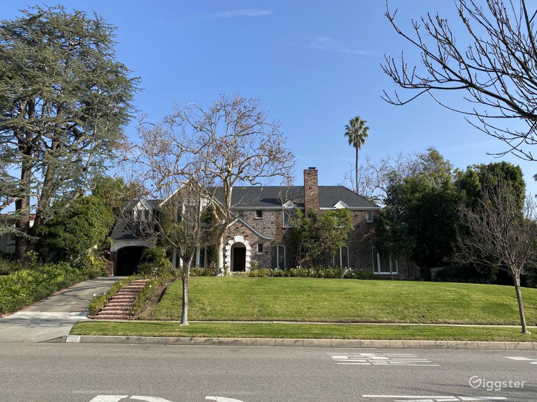 Beverly Hills English Brick Mansion Photo 1