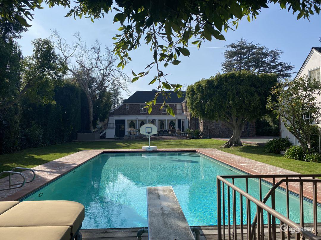 Beverly Hills English Brick Mansion Photo 3