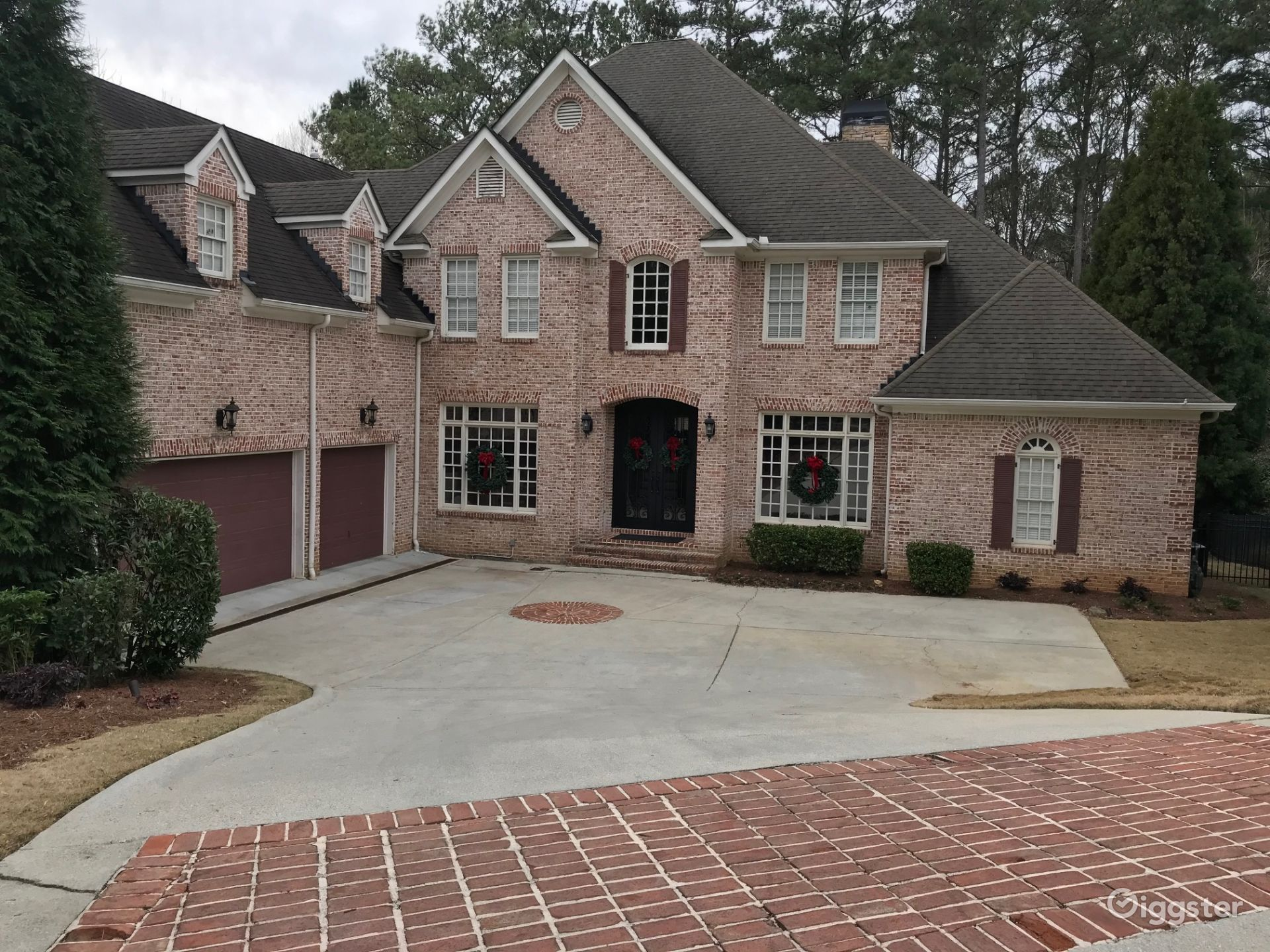 Family Home with Interior Basketball Court and Game Room Atlanta Rental