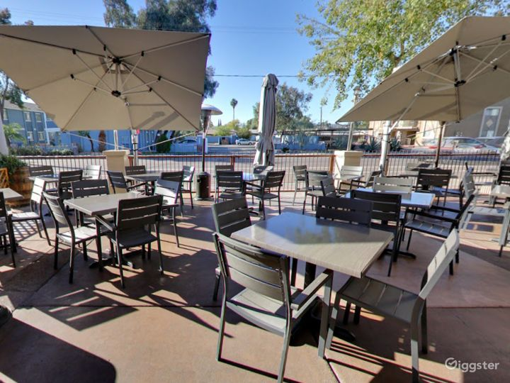 Outside Patio Dining in Tempe