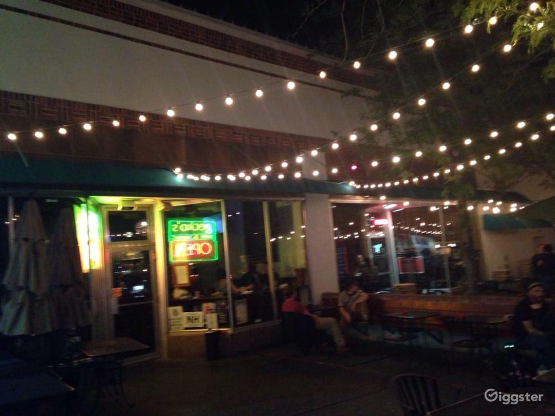 Fun Outdoor Patio with Good Bar Food Photo 1
