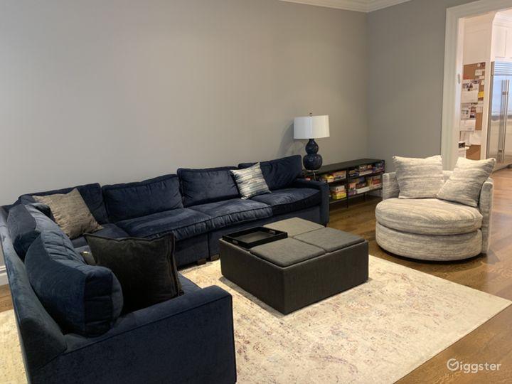 Alternate view of family room