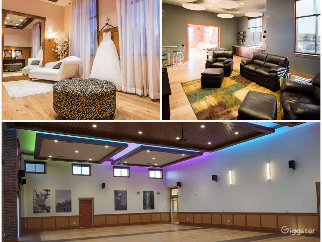 Modern and Elite Wedding Buy-out Venue in Fresno Photo 1