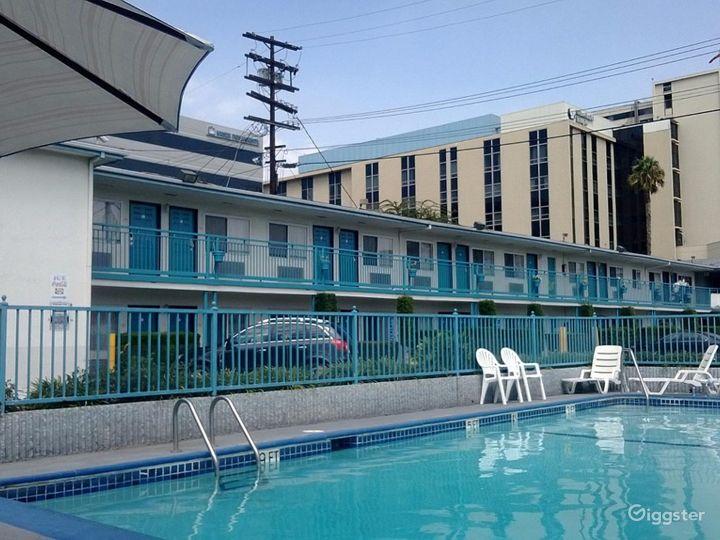 Outdoor Pool in LA Photo 2