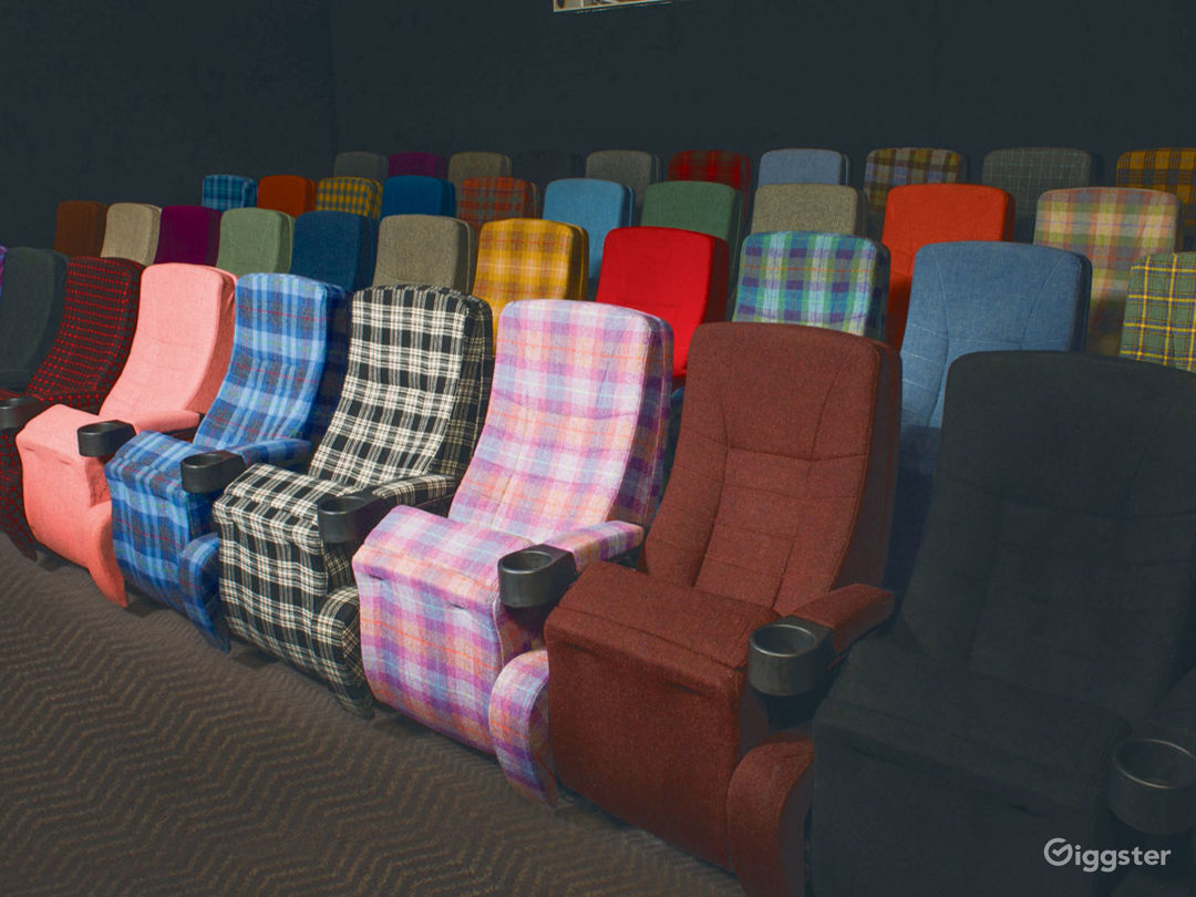 Colorful Screening Room in Glasgow Photo 1