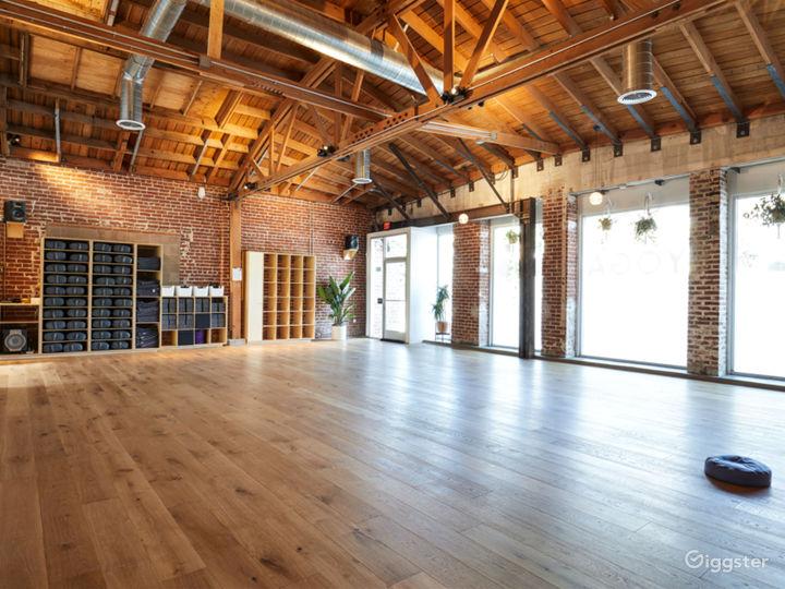 Big Dog - Larger Yoga Room