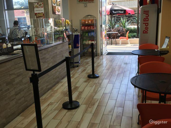 Sandwich shop in Santa Monica