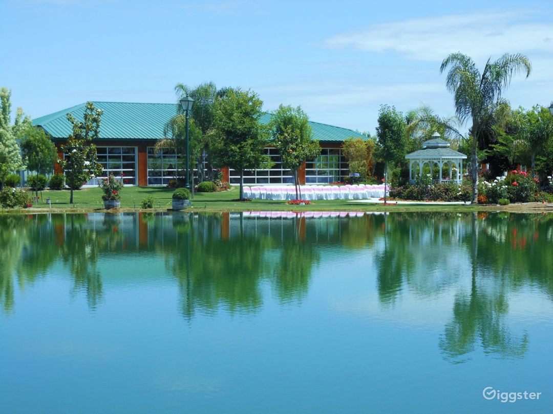 Event Park with building & Lake in Shafter Photo 1