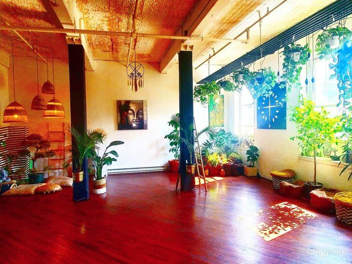 Yoga Studio Building in Philadelphia