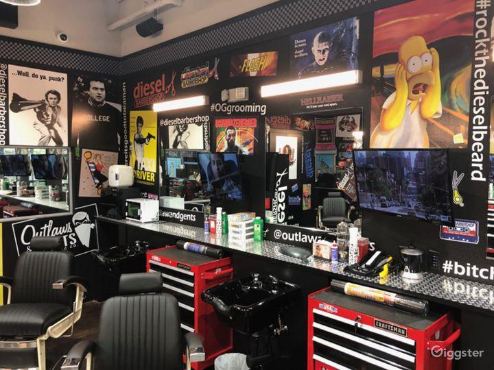 Industrial Style Barbershop Photo 3