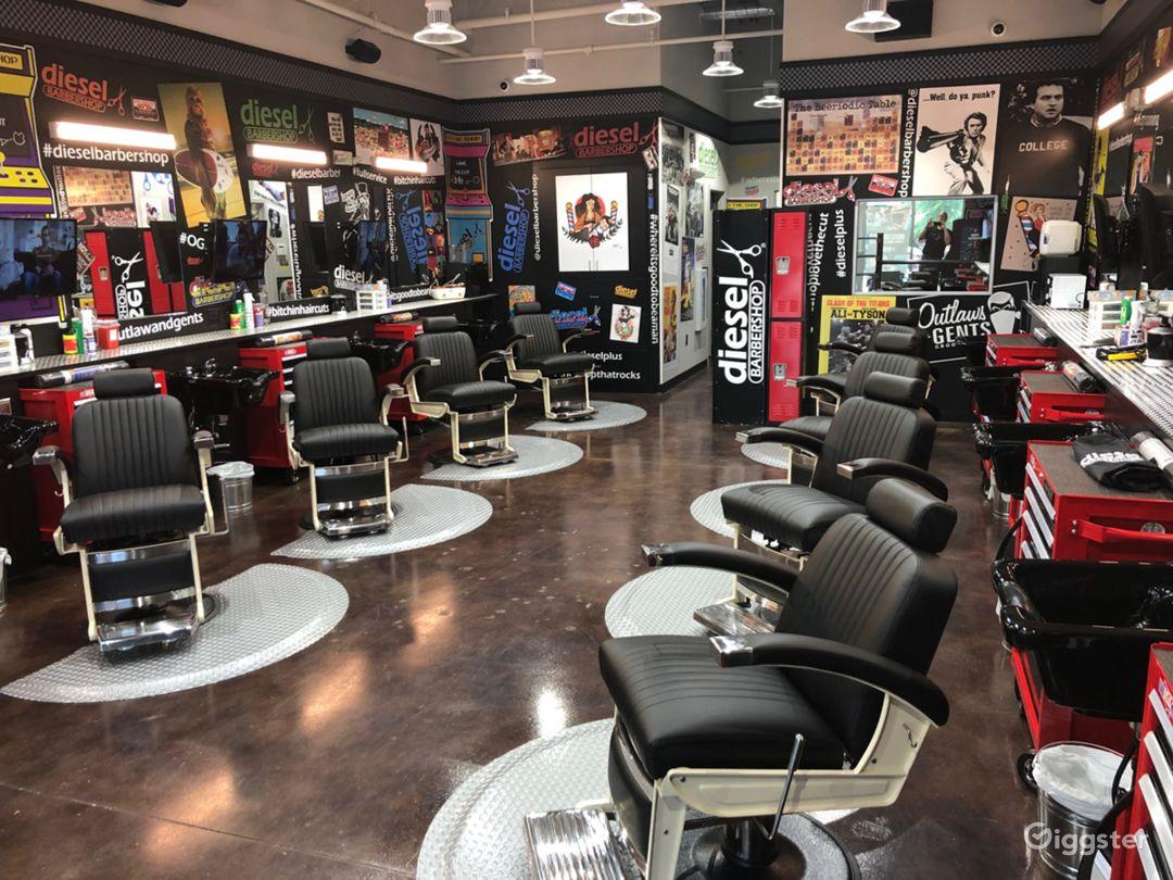 Industrial Style Barbershop Photo 1