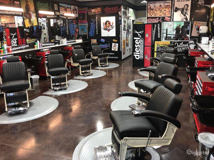 Industrial Style Barbershop Photo 4